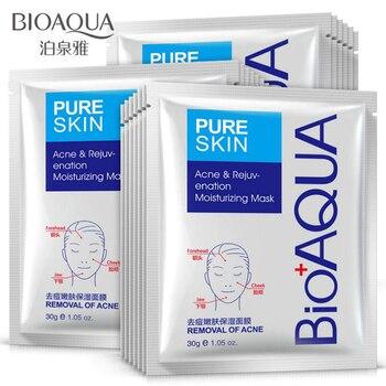 BIOAQUA Skin Care Women Remove Acne Moisturizing Face Masks Oil Control Natural Essence Whitening Mask Face Mask & Treatments