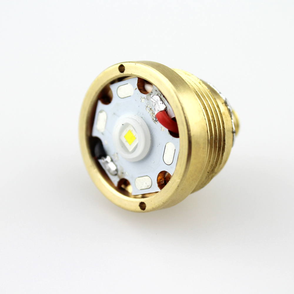 CREE XP-L HI V2 1600lm 10x7135 Driver 5-Mode Brass Base LED Drop-in for Ultrafire C8 Flashlight цена