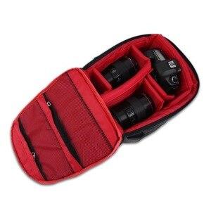 Image 4 - Torba na aparat DSLR plecak dla Nikon Z50 Z5 Z7 Z6 D3400 D3300 D3500 D5600 D5500 D5300 D7500 D7200 D3200 D3100 D3000 D5200 D5100