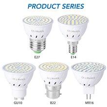 Bombillas Led GU10 Spotlight Bulb 4W 6W 8W Lamp Energy Saving gu5.3 220V E14 Spot Light Corn B22 Home led ampul E27