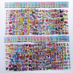 Image 2 - ילדים מדבקות 1200 +, 40 גיליונות שונים, 3D נפוח מדבקות לילדים, בתפזורת מדבקות לילדה ילד יום הולדת מתנה, רעיונות