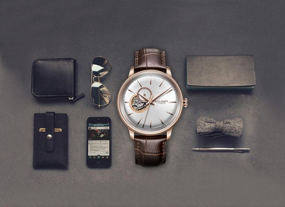 HTB1iLwnJpuWBuNjSszbq6AS7FXa1 MEGIR Automatic Mechanical Watches Top Brand Luxury