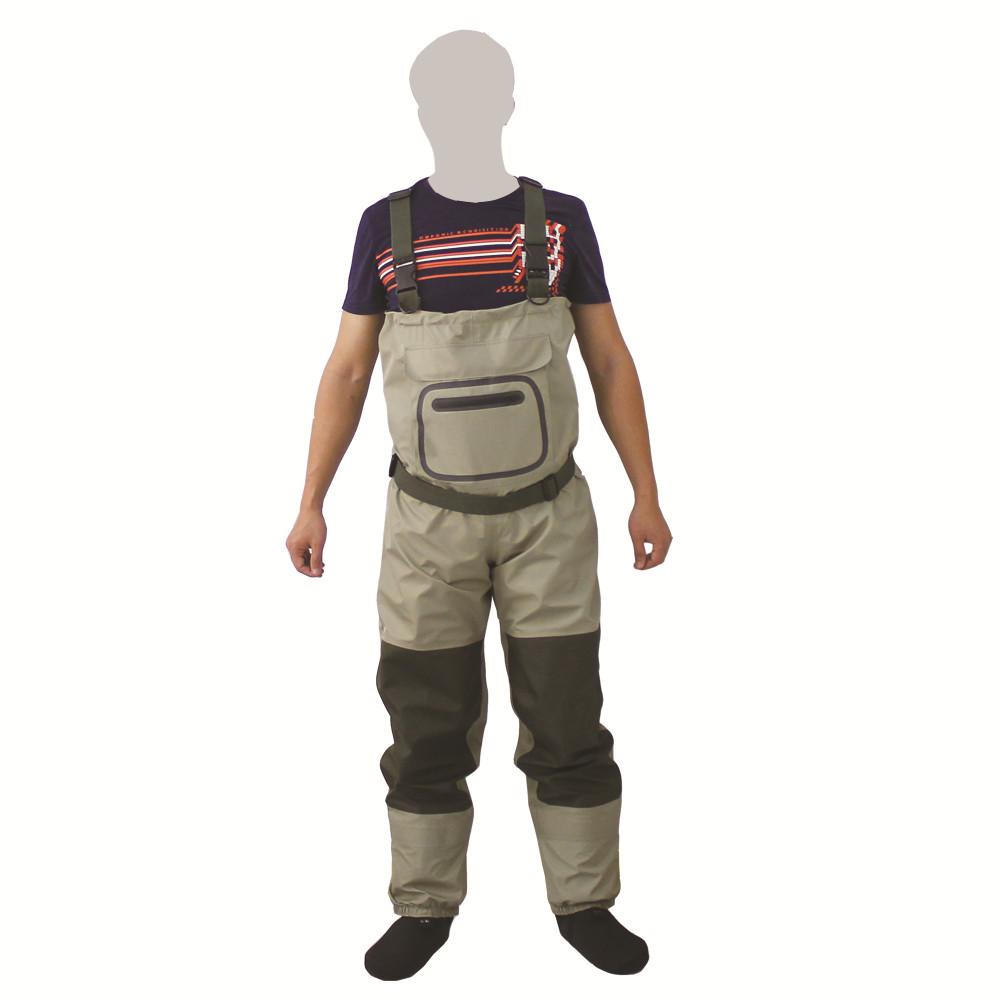 Men's Fly Fishing Waders Hunting Chest Wader outdoor Breathable Clothing Wading Pants Waterproof Clothes overalls stocking foot thicker waterproof fishing boots pants breathable chest waders wading farming overalls cleaning siamese bust clothes