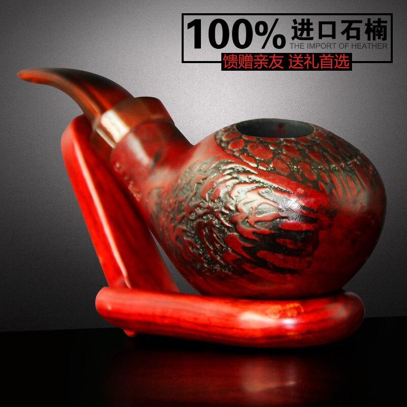Meerschaum pipe à fumer grand tabac à la main consommables sculpture à l'ancienne pipe à fumer de l'eau spécialité chinoise