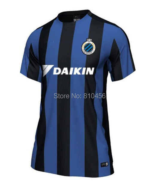 a3b8ecb44 free shipping New 2015 Belgium Club Brugge KV Soccer Team JERSEY T shirt  popular T-shirt sport wearing