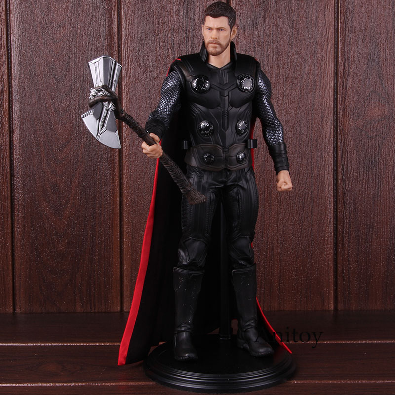 Marvel Avengers Infinity War Thor 1/6 Scale Collectible Figure PVC Thor Action Figure Model Toy 30cm