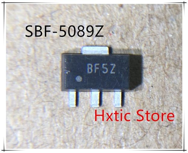 10pcs SBF 5089Z SBF 5089 SBF5089Z SBF5089 MARKING BF5Z SOT 89 IC