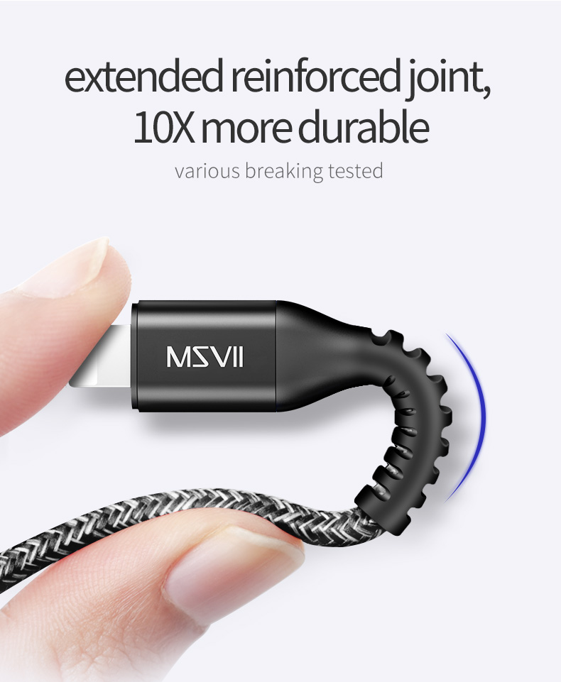 Mobile Phone Cables 1.2m 1.8m for iphone Cable Charger Original (3)