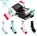 2014 Новое Прибытие Мужская АЛМАЗНЫЙ SUPPLY CO Носки носки алмаз скейтборд носки хип-хоп носки