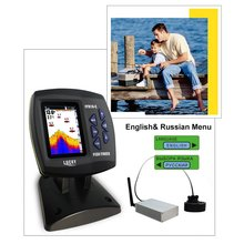 LUCKY FF918-CWLS Portable Waterproof Boat Fish Finder with Colored Screen Display Sonar Sensor 300M Remote Control