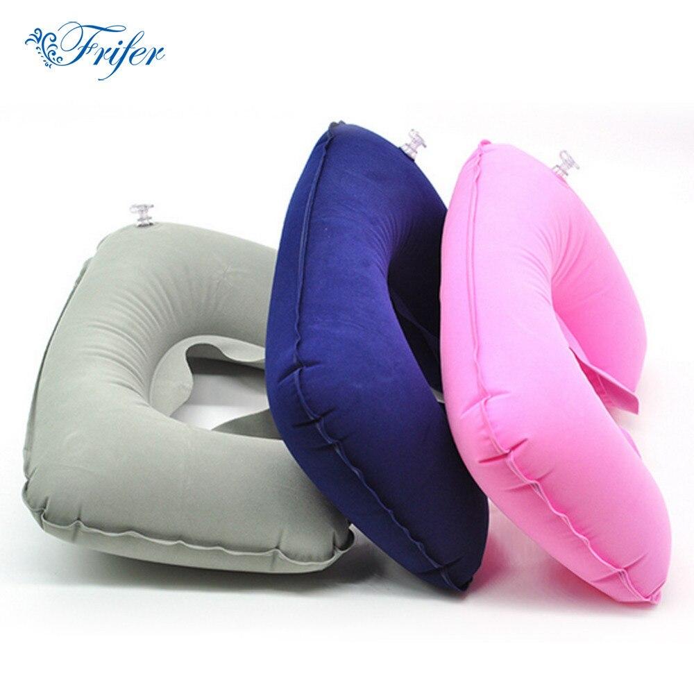 U Shaped Travel Pillow Car Head Neck Rest Air Cushion