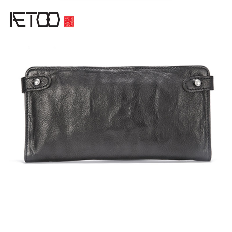 AETOO High-capacity hand bag sheepskin multi-functional wallet men's wallet handmade long cell phone bag Vintage wallet 1000g 98% fish collagen powder high purity for functional food