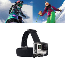For Gopro Accessories Adjustable Head Strap Professional Mount Tripod for Gopro Hero four three three+ 2 SJ4000 SJ5000 SJ6000 AEE xiaomi yi