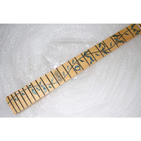 disado 22 Frets maple Electric Guitar Neck maple fretboard inlay blue tree of lifes guitar parts accessories can be customized