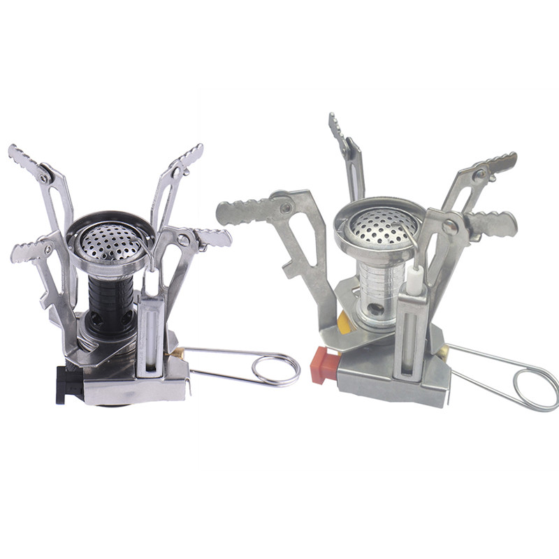 Mini Outdoor Stove One Piece Stainless Steel Outdoor