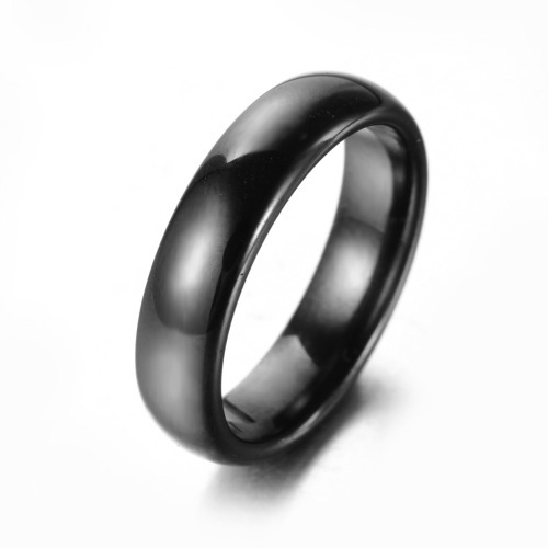 High quality black ceramic in Bulgaria finger thumb ring for male and female lovers Ring FREE SHIPPING