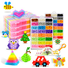 Children Magic Water Beads 5mm Kit DIY Beads Kids Creative Handmade 3D Puzzle Beads Craft Educational Toy