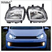 For VW Golf 6 A6 MK6 Cabriolet GTI GTD 2012 2013 2014 2015 2016 Car Styling Front Halogen Light Fog Lamp Fog Light With Bulbs
