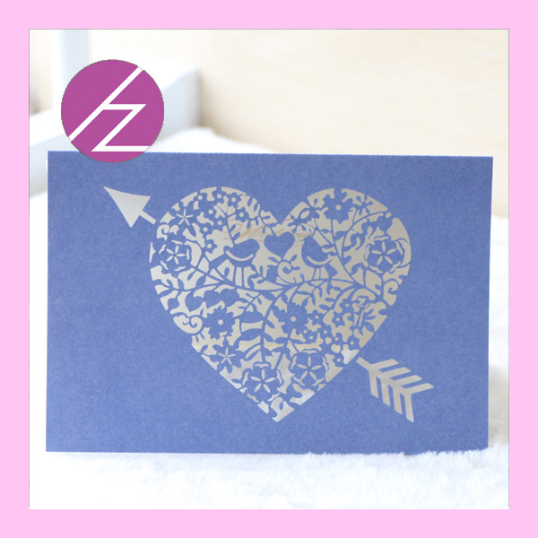 12pcslot heart shape laser cut wedding invitation and greeting card 12pcslot heart shape laser cut wedding invitation and greeting card customized unique pearl pape qj 136 in cards invitations from home garden on m4hsunfo