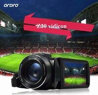 Ordro Z20 3 Touch Screen 16X Zoom Digital Camera Full HD 1080P 24MP Microphone Camcorder Video Cam DV Wifi Remote Control