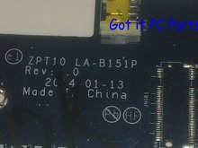 FREE SHIPPING + WORKING 764236-501 ZPT10 LA-B151P laptop Motherboard SUITABLE For HP PAVILION 11-N 11T-N NOTEBOOK PC