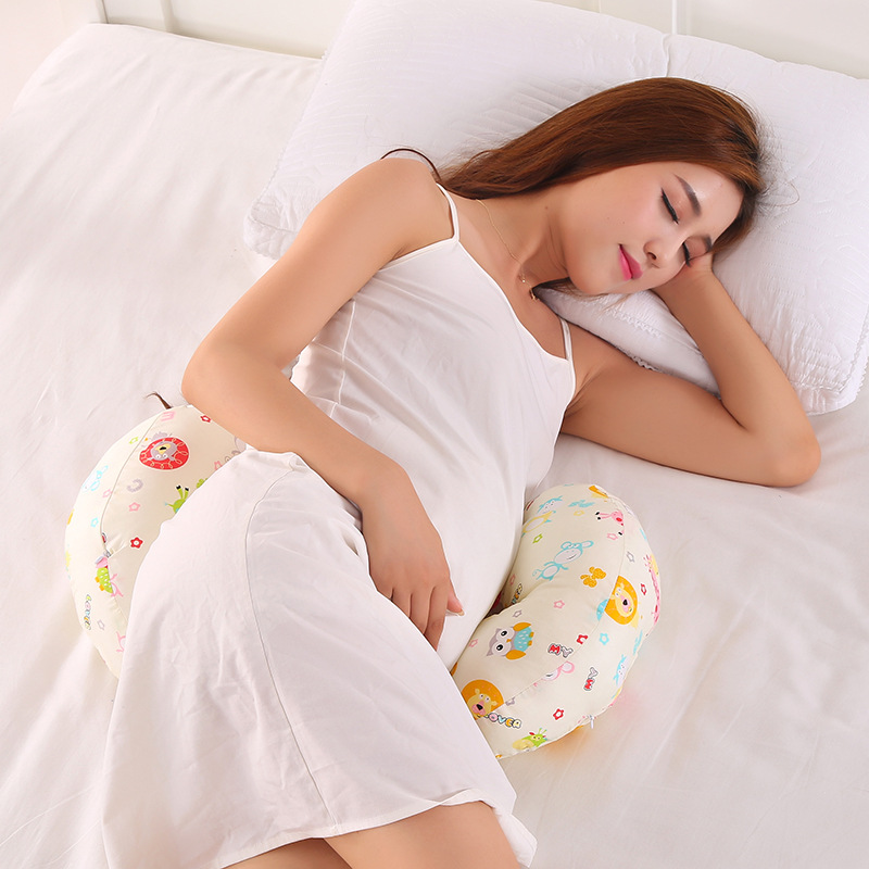 Multi-function Pregnant Women Pillow Body Support Cushion Baby Nursing Breast Feeding Pillow Head Protection Cotton Cushion Подушка