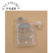 10pcs transparent Damper double clips with square head for Epson DX4 / DX5 Head damper