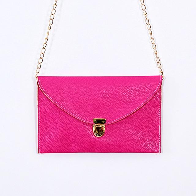 Womens Envelope Clutch Chain Purse Lady Handbag Messenger Tote Shoulder Hand Bag