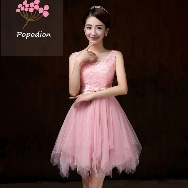 33b77a45d1073bc Фиолетовый нарядные платья Короткие платье для свадьбы гостей сестра партии  торжественное платье платья для выпускного вечера