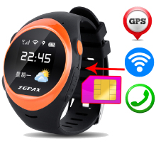 S888 2G SIM Card Smart Wrist Watch SOS Emergency Call Smartwatch GPS LBS Wifi Sport Intelligent Clock For Old Man Kids Children