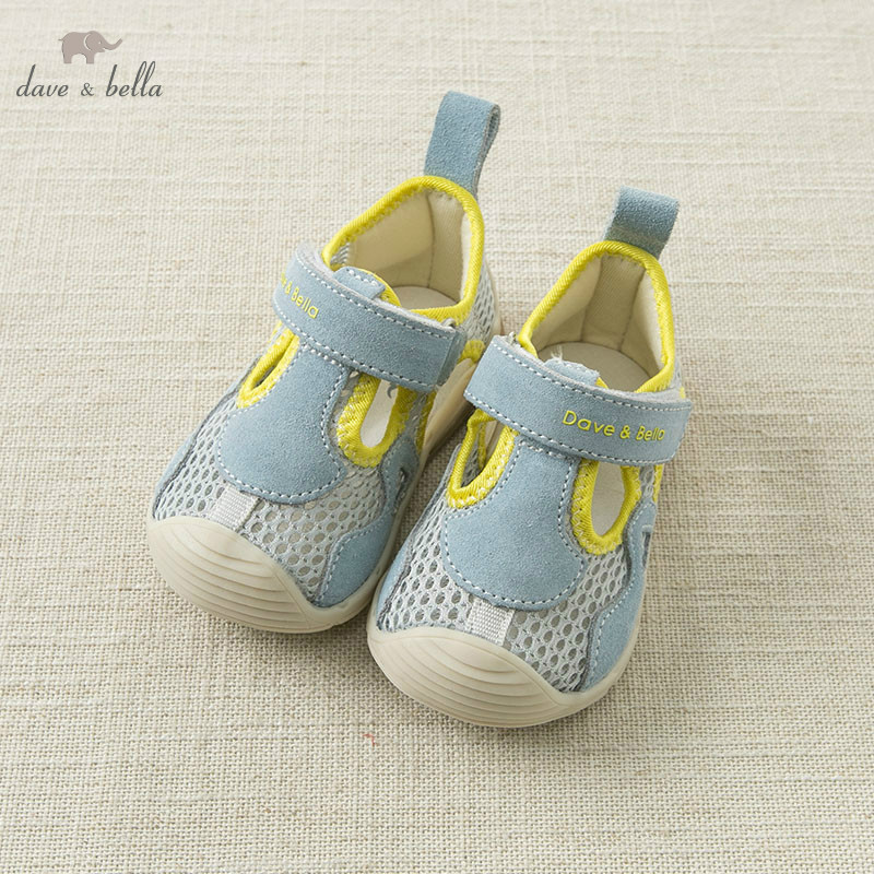 DB10442 Dave Bella Summer Baby Boy Sandals New Born Prewalkers Infant Shoes Boy Summer Shoes