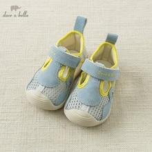 DB10442 Dave Bella summer baby boy sandals new born prewalkers infant shoes boy summer shoes