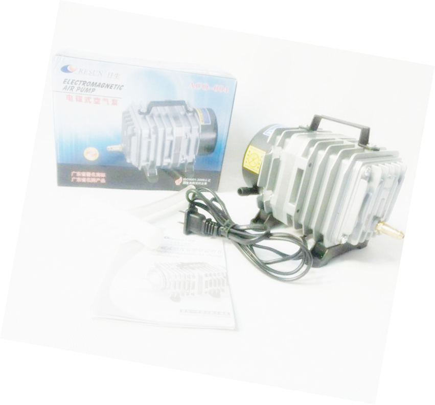NEW Resun ACO-004 High Quality 58W 0.075m3\min  Aquarium Fish Tank Pond Electromagnetic Air Compressor Pump NEW