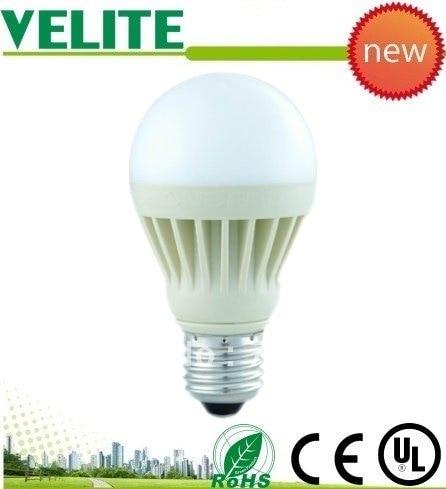 freeshipping led manufacturers of 6*1w brightest led lighting bulbs e14 base type aluminum 3500k to 4500k led lighting bulbs