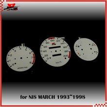 DASH EL свечение манометр для марта 1993 1998 полное свечение синий зеленый обмен 200 км 8000 об/мин