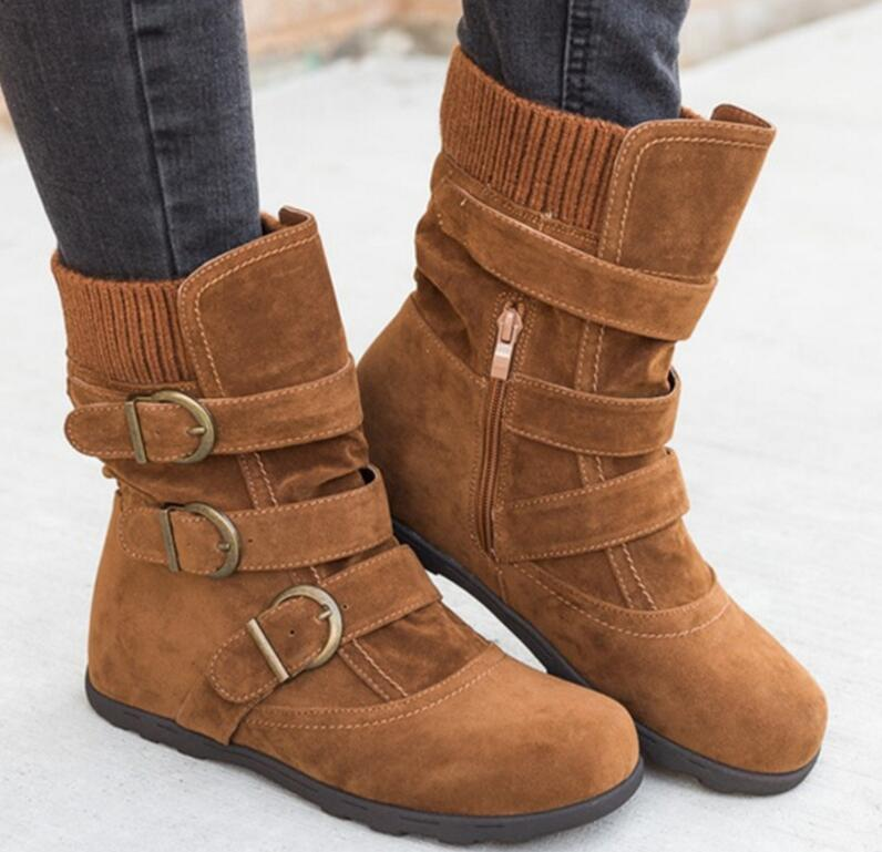 sapato-feminino-women-ankle-boots-chunky-low-heels-vintage-shoes-woman-gladiator-matte-PU-leather-rome (2)
