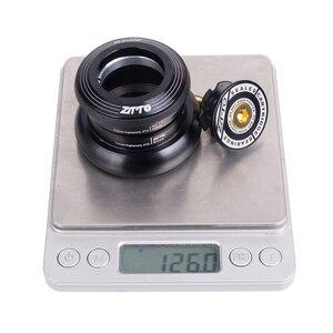 """Image 5 - ZTTO MTB bisiklet kulaklık 44mm ZS44 EC44 CNC 1 1/8 """" 1 1/2"""" düz tüp çerçeve konik tüp çatal 1.5 adaptörü kulaklık 4444T"""