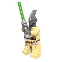Único Jedi star wars Coleman Trebor Batalha de Geonosis Ataque dos Clones modelos blocos de construção de tijolos brinquedos para as crianças kits
