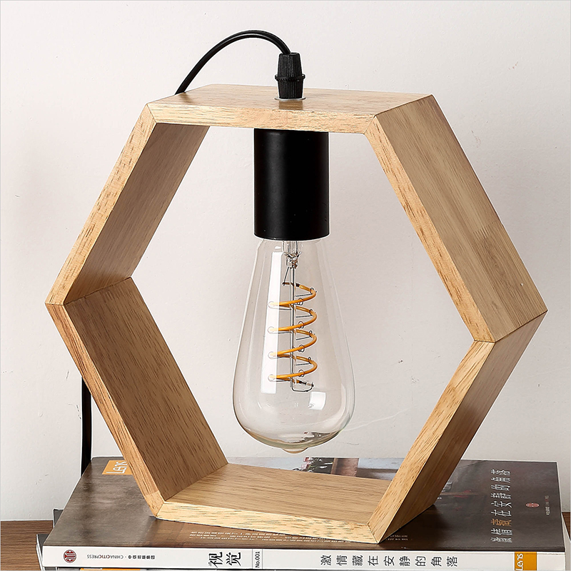 modern art decoration desk lamp e27 holder solid wooden table lamps for decorate nature style eu plug ac85 265v desk night light Modern Table Lamp Wooden Desk Lamps Book Light Desk Night Lights E27 Holder Mini Retro Bedside Lamp Suit For LED Bulb Lighting