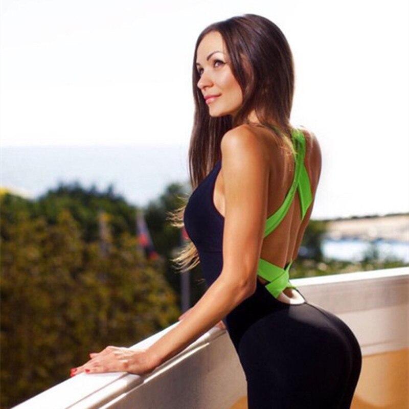 Svokor Bodysuit Fitness Playsuit New Sexy Women Jumpsuit Tank Romper Catsuit Macacao Womens Jumpsuit Combinaison 4 Colour