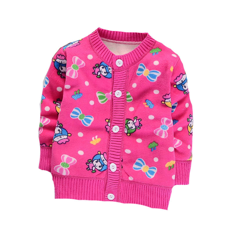 bd1225049 Autumn Baby Warm Jacket Winter Plus Velvet Cartoon Fleece Baby Boy ...
