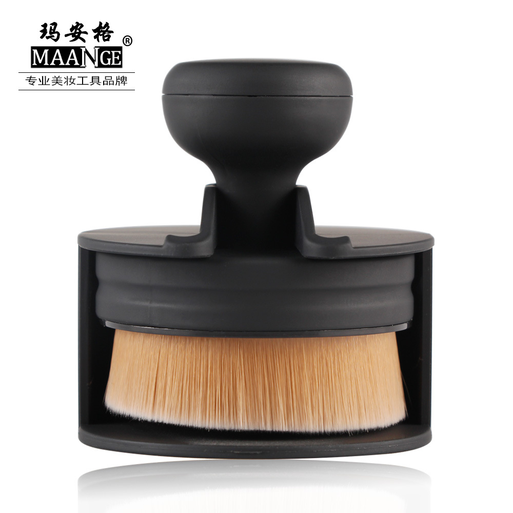 New Design Stamp Seal Shape Face Makeup Brush Foundation Powder Blush Contour Brush Cosmetic Facial Brush Cosmetic Makeup Tool new design stamp seal shape face makeup brush foundation powder blush contour brush cosmetic facial brush cosmetic makeup tool