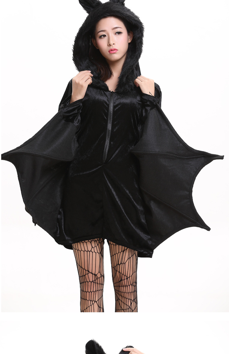 Child adult Animal Cosplay Cute Bat Costume Kids Halloween Costumes For Girls Black Zipper Jumpsuit Connect Wings Batman Clothes-in Boys Costumes from ...  sc 1 st  AliExpress.com & Child adult Animal Cosplay Cute Bat Costume Kids Halloween Costumes ...