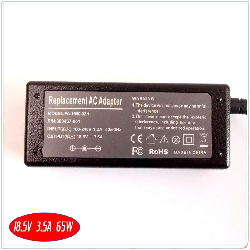 Для HP Pavilion DV4200 DV4300 DV4400 dv5000 DV9500 ноутбука Батарея Зарядное устройство/адаптер переменного тока 18.5 В 3.5a 65 Вт
