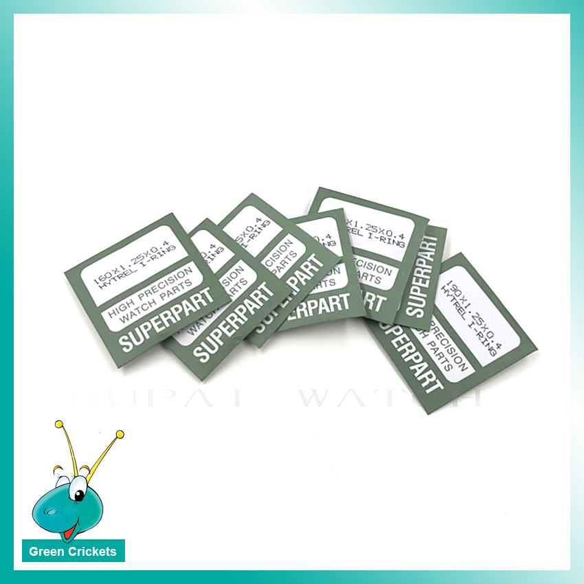 98pcs/box 1.25mm thinckness Watch Crystal Glass I Ring Gasket Replacement parts for Watchmaker