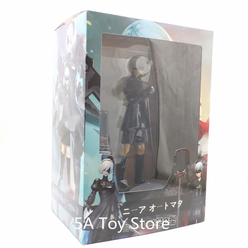 цена Game Anime Figure NieR Automata YoRHa 9S No. 9 Type S PVC NieR: Automata Action Figure Collectible Model Toy онлайн в 2017 году