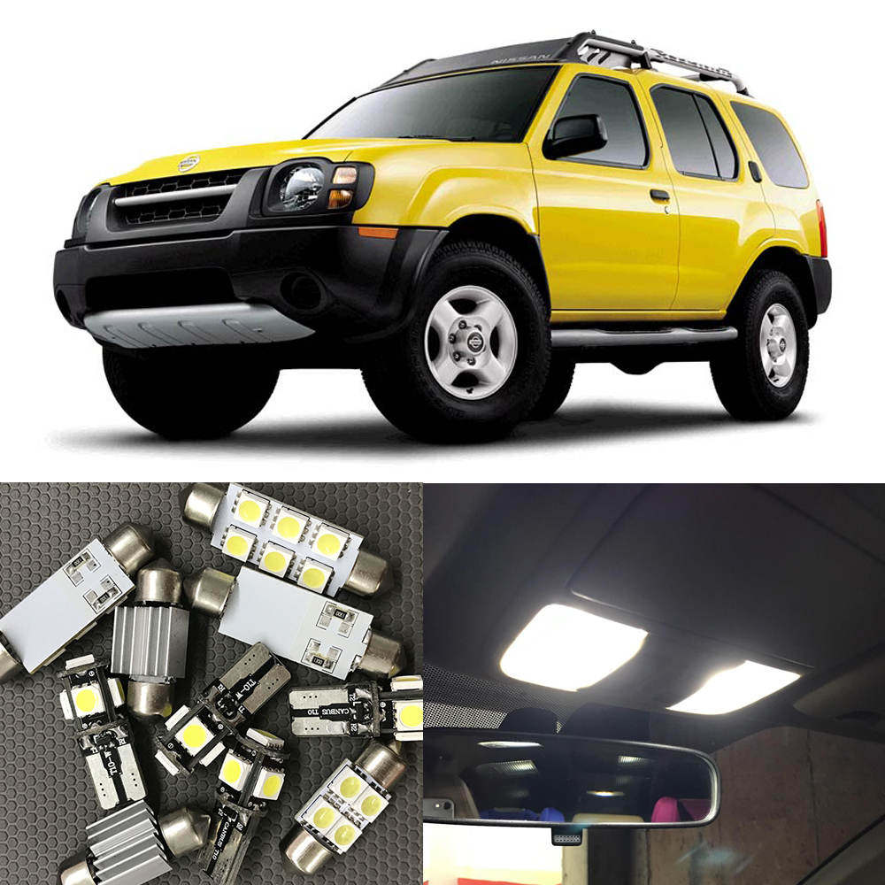 Compare prices on 2003 nissan xterra online shoppingbuy low 8pcs auto car led light bulbs interior kit for nissan xterra 2002 2003 2004 12v white vanachro Image collections