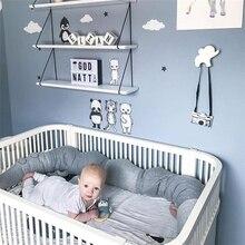 185 см детская кроватка бампер утешительная Подушка-крокодил Детская комната Декор игрушки кровать бамперы детская кроватка защита постельные принадлежности