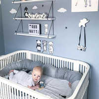 185 см детская кроватка бампер утешительная Подушка-крокодил Детская комната Декор игрушки кровать бамперы детская кроватка защита постель...