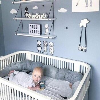 185 cm Newborn Crib Bumper Reconfortante Crocodilo Travesseiro Decoração Do Quarto Do Bebê Brinquedos Cama Bumpers Berço Infantil Cama de Proteção Acessórios